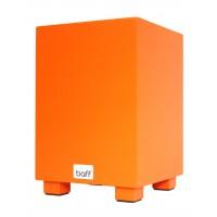 Bubnovacia stolička - veľká oranžová