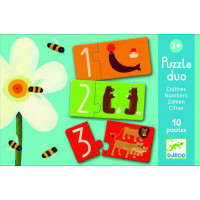 Puzzle Duo Čísla