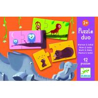 Puzzle Duo Mama a mláďa