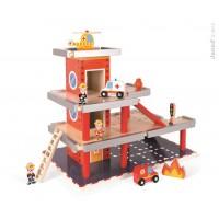 Drevená požiarna stanica