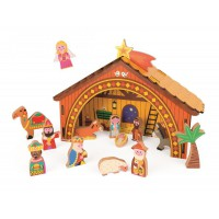 Detský drevený Betlehem