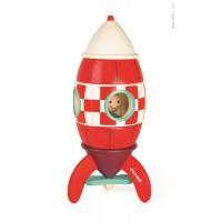 Magnetická skladačka raketa