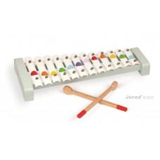 Detský kovový xylofón
