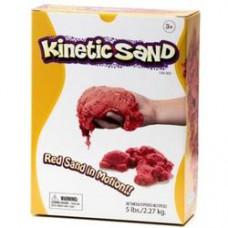 Kinetic Sand - červený 2,27kg