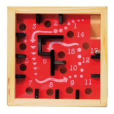 Mini hra, Labyrint červeno čierny  FRIDOLIN