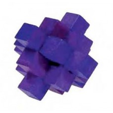 IQ-Test Bamboo puzzle fialový FRIDOLIN
