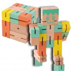 IQ-Test  Puzzle boy  oranžová/žltá/zelená FRIDOLIN