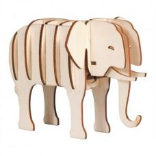 Zvierací hlavolam - Slon  FRIDOLIN
