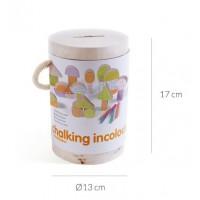 Chalking - kriedová stavebnica Incolour