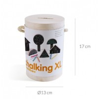 Chalking - kriedová stavebnica XL