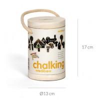 Chalking - kriedová stavebnica
